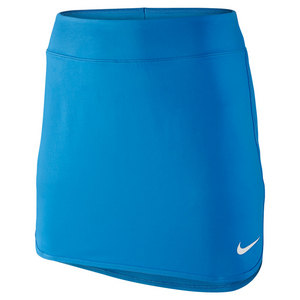 Women`s Tall Pure 14 Inch Tennis Skort Light Photo Blue