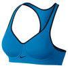NIKE Women`s Pro Rival Bra Light Photo Blue