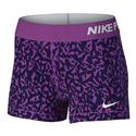 NIKE Women`s Pro Cool Facet 3 Inch Short