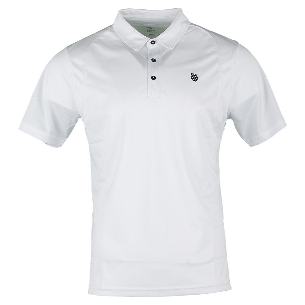 Men's B2 Tennis Polo White