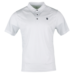 Men`s B2 Tennis Polo White