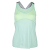 LUCKY IN LOVE Women`s Goddess Tennis Cami Seafoam