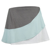ELEVEN Women`s Propel Colorblocked 13 Inch Tennis Skort Frost Gray and Icy Morn
