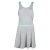 ELEVEN Women`s Miami Tennis Dress Strike Print and Icy Morn