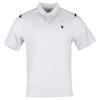 Men`s Backcourt Tennis Polo 100_WHITE