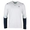 Men`s Long Sleeve Tennis Crew 100_WHITE