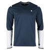 Men`s Long Sleeve Tennis Crew 423_DRESS_BLUE