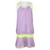 LUCKY IN LOVE Girls` Mesh Flounce Tennis Dress Orchid