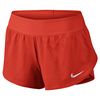 Women`s Ace Tennis Short Light Crimson by NIKE
