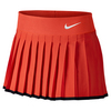 NIKE Girls` Victory Tennis Skort Light Crimson