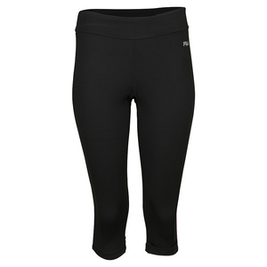 Women`s Side Piped Tight Capri