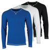 FILA Men`s Stoked Waffle Long Sleeve Training Top