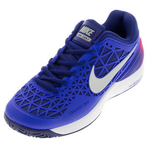 NIKE WOMENS ZM CAGE 2 TNS SHOES RCR BL/ROY