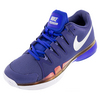 NIKE Women`s Zoom Vapor 9.5 Tour Tennis Shoes Dark Purple Dust and Racer Blue
