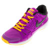 NIKE Women`s Air Vapor Advantage Tennis Shoes Hyper Violet and Laser Orange