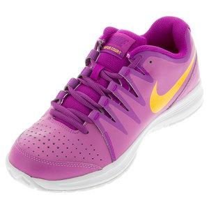 Women`s Vapor Court Tennis Shoes Viola and Hyper Violet