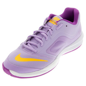 Women`s Dual Fusion Ballistec Advantage Tennis Shoes Urban Lilac and Cosmic Purp