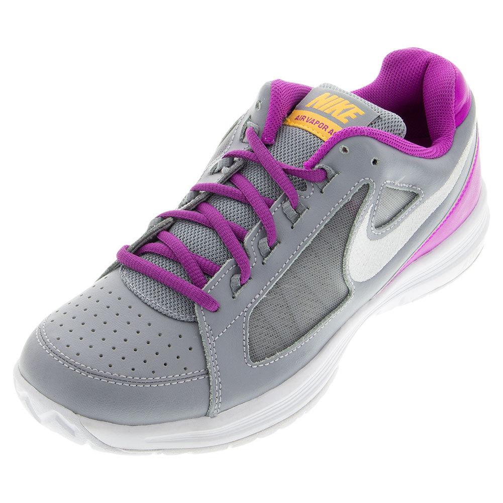 Women's Air Vapor Ace Tennis Shoes Stealth And Hyper Violet
