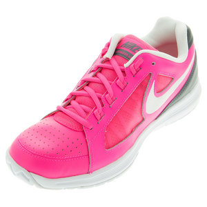 Women`s Air Vapor Ace Tennis Shoes Hyper Pink and Dark Gray