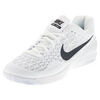 NIKE Men`s Zoom Cage 2 Tennis Shoes White and Black