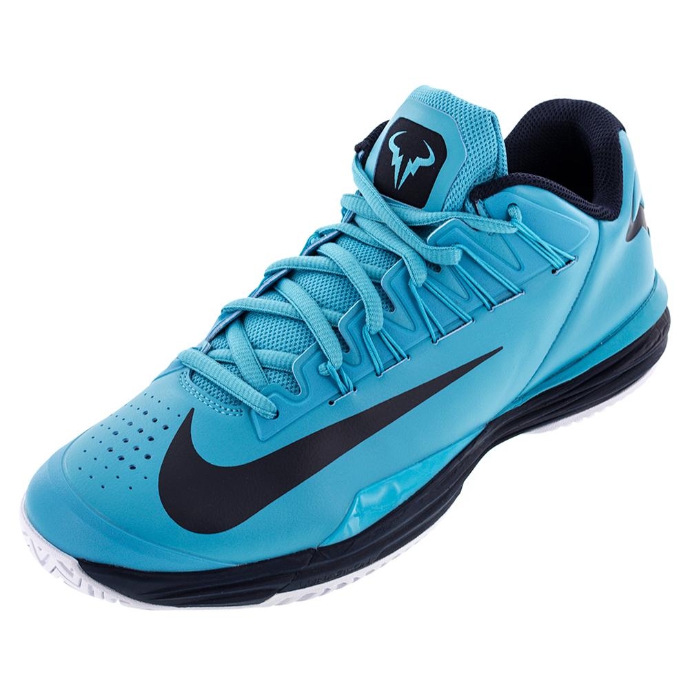 s lunar ballistec 1 5 tennis shoes omega blue and