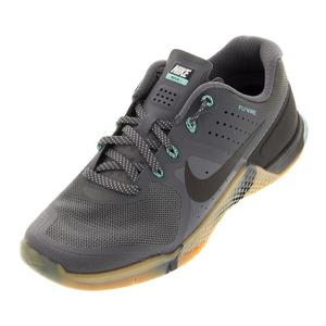 Men`s Metcon 2 Training Shoes Dark Gray and Hyper Turquoise