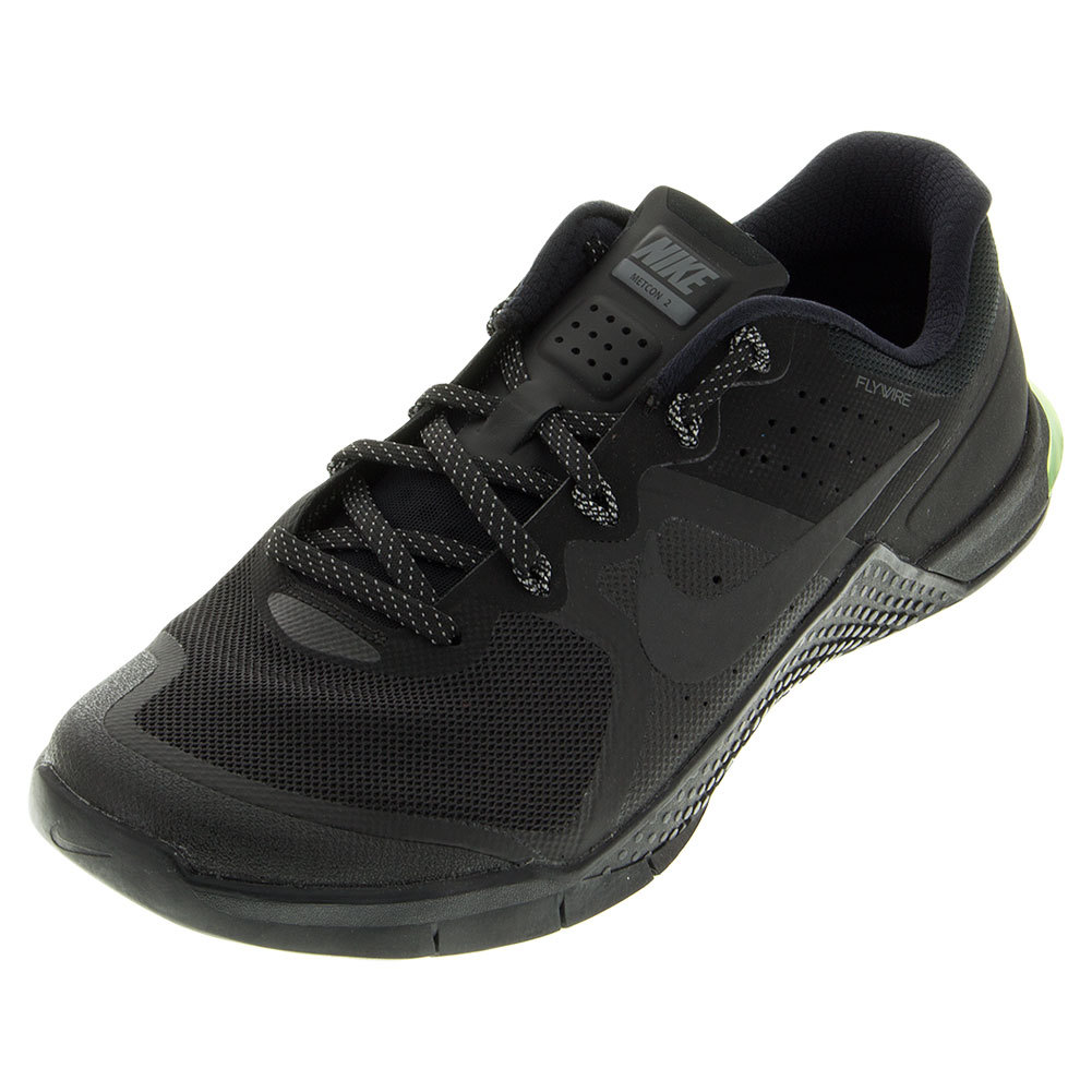 Men's Metcon 2 Training Shoes Black And Cool Gray