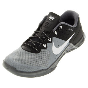 NIKE WOMENS METCON 2 SHOES STEALTH/BLACK