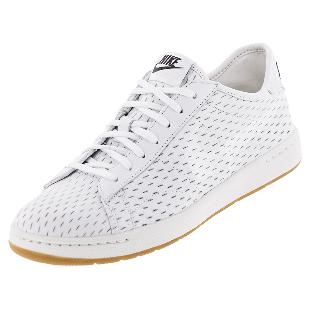 nike s classic ultra decons tennis shoes white and black