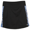 Women`s Advantage Tennis Skort Black and Print by LIJA