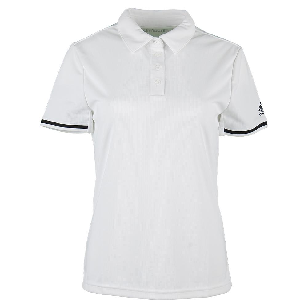 Women's Climachill Tennis Polo White