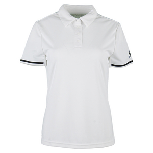 Women`s Climachill Tennis Polo White