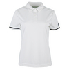 ADIDAS Women`s Climachill Tennis Polo White