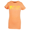 Girls` Love Life Tennis Tee OR_ORANGE