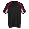 Boys` Adrenaline Color Blocked Tennis Crew 001_BLACK/CHINESE_RD
