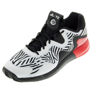 Men`s Adizero Y-3 Tennis Shoes Black and White