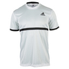 ADIDAS Men`s Court Tennis Tee White and Black