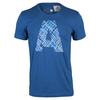 ADIDAS Men`s A Graphic Tennis Tee EQT Blue