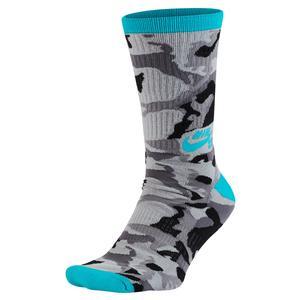 Men`s Camo Crew Socks