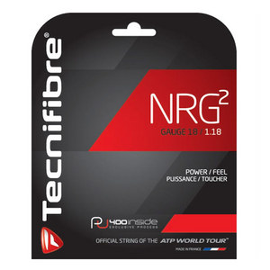 NRG2 18G Tennis String Black