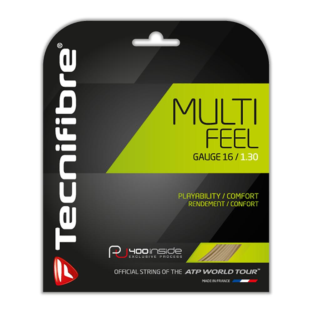Multi- Feel Tennis Strings Natural