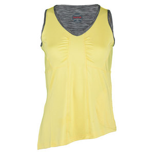 BOLLE WOMENS MELANGE TENNIS TANK YELLOW