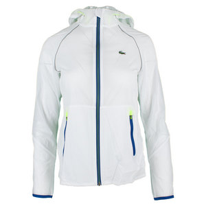 Women`s Technical Light Weight Windbreaker Jacket White