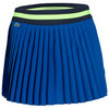 Women`s Technical Contrast Waistband Pleated Tennis Skort 11T_ROYAL_BLUE/YL