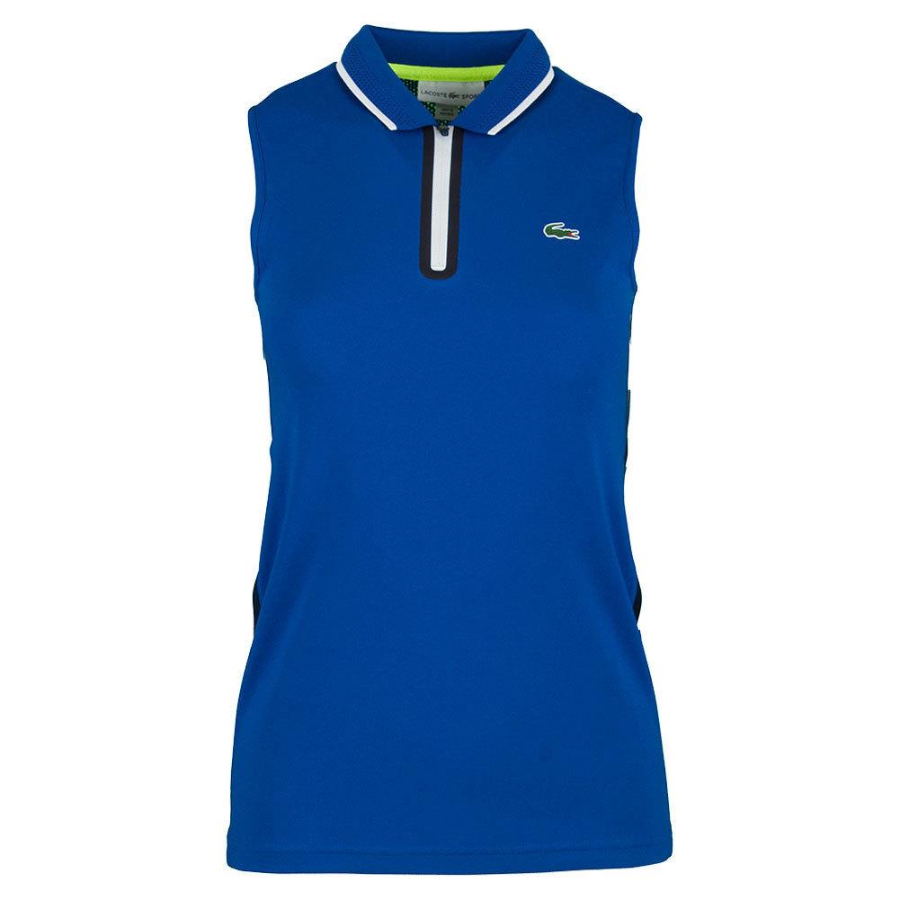 Women's Technical Sleeveless Tennis Polo