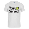 TENNIS EXPRESS Unisex You Got Served Tennis Tee White