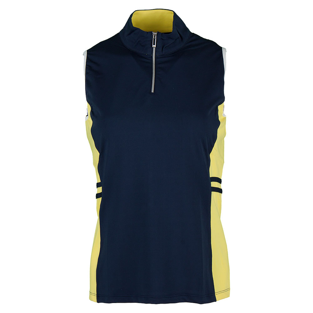 Women's Justine Tennis Tank Navy Blue