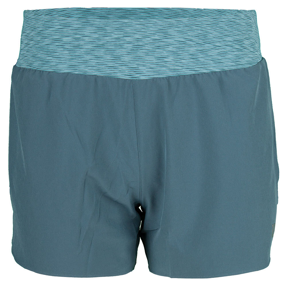 Women's Sporty 3 Inch Short Blue Mirage