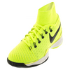 NIKE Men`s Air Zoom Ultrafly Tennis Shoes Volt and White