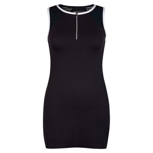 CHRISSIE BY TAIL WOMENS SAMIA TENNIS DRESS BLACK